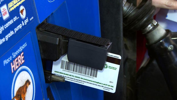 Debit Card in Gas Pump
