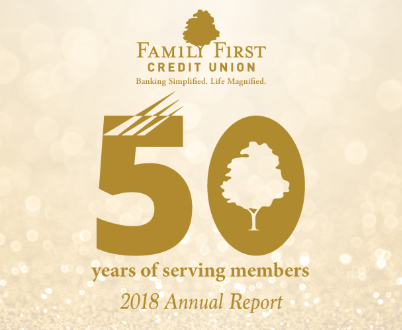 annual report 50 years of serving members