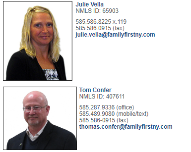 Mortgage Team Contact Info and Profiles